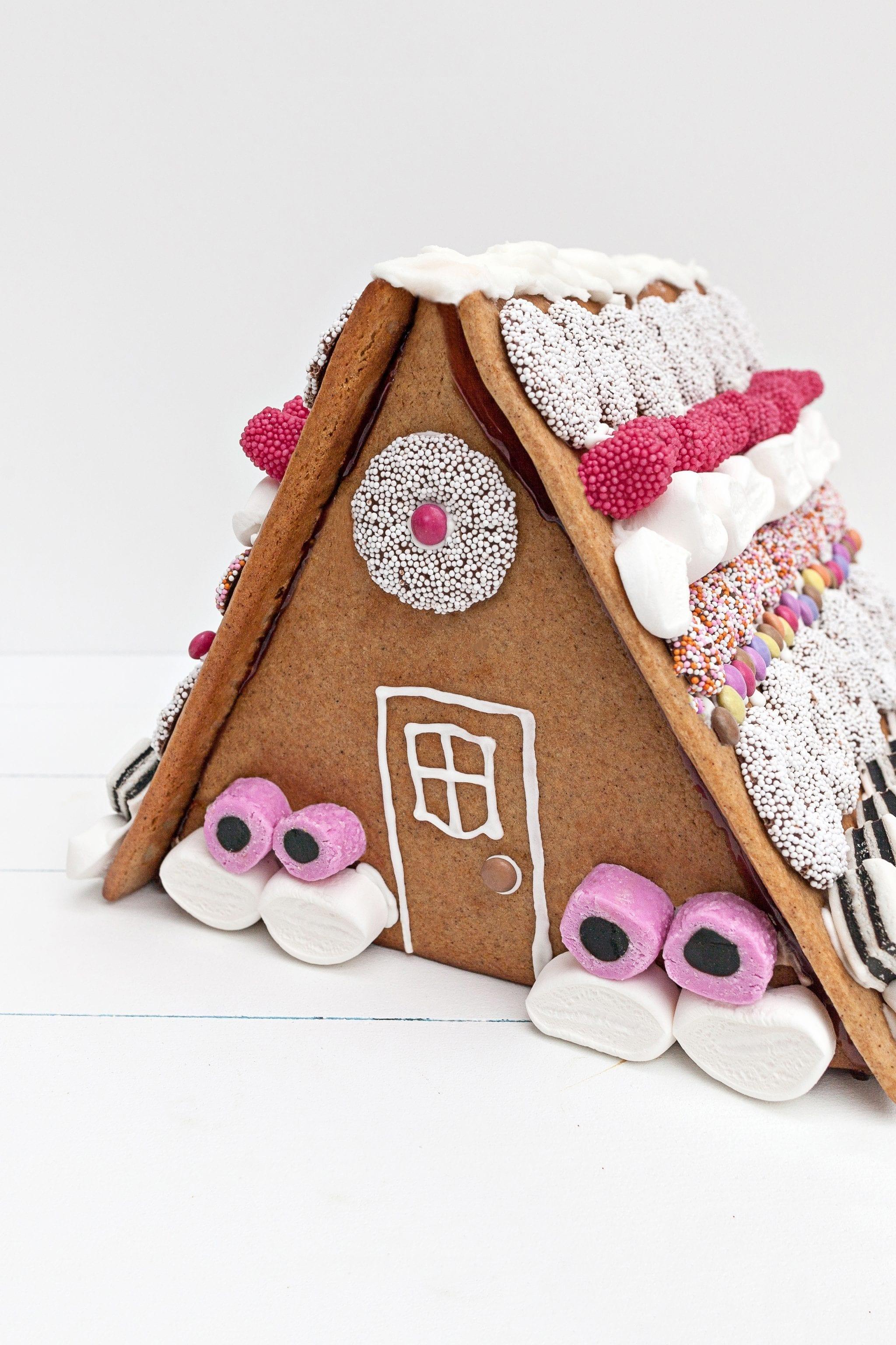 homemade scandinavian gingerbread house food cookies baking christmas traditions norwegian picturelyspoken