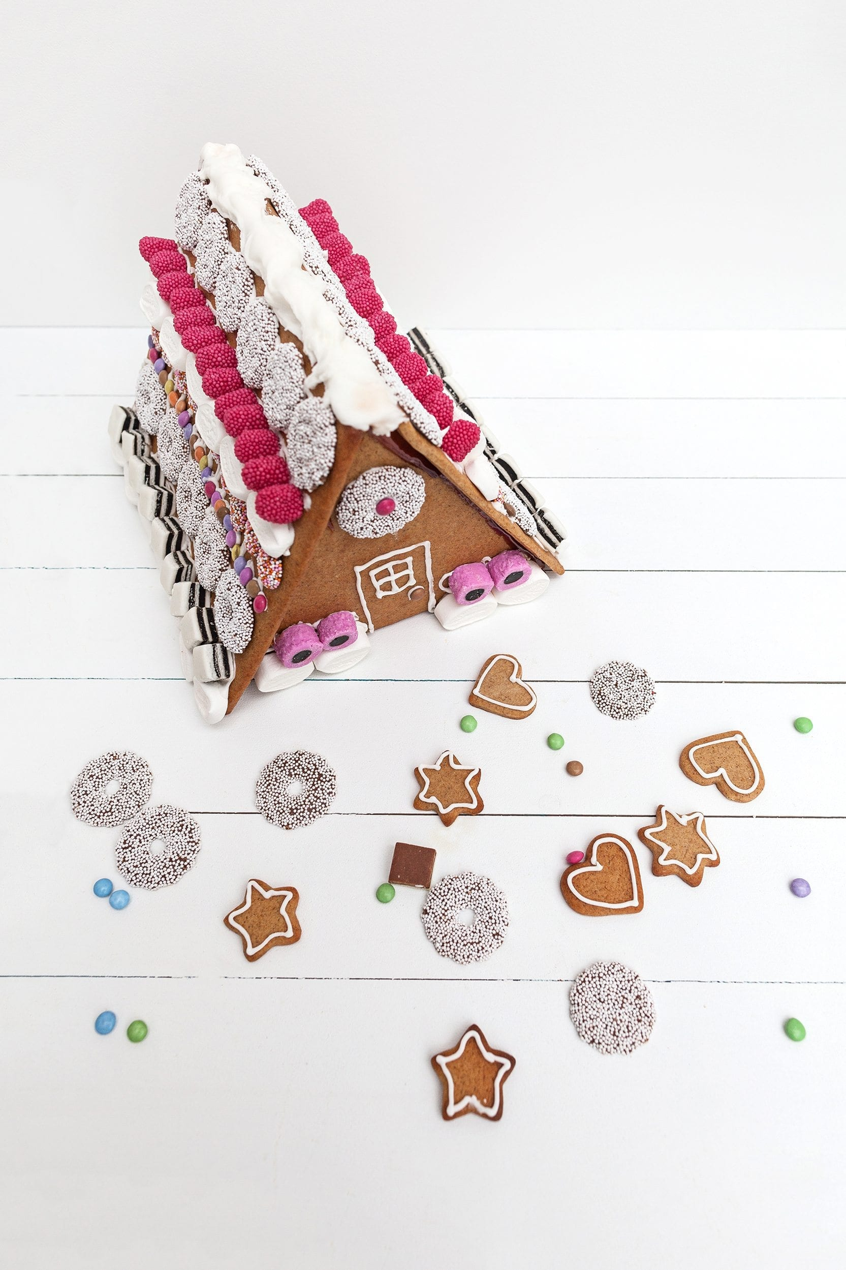 norwegian gingerbread house and cookies recipe