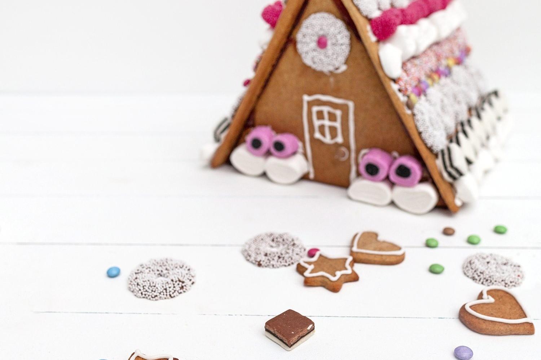 homemade scandinavian gingerbread house food cookies baking christmas traditions norwegian picturelyspoken cookies