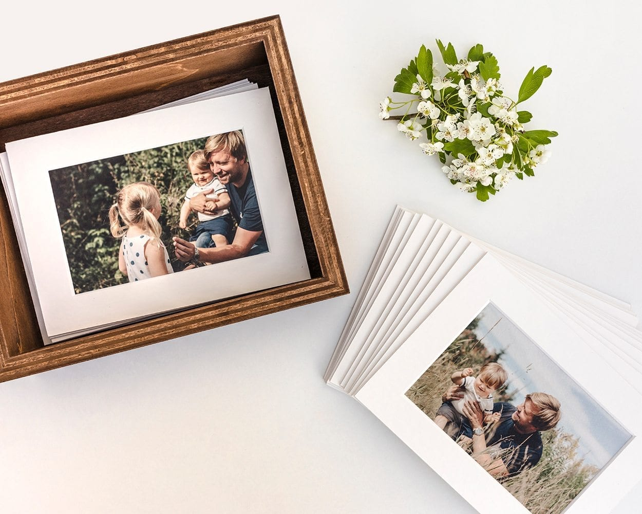 Fine Art matted prints with wood box lifestyle photography picturelyspoken