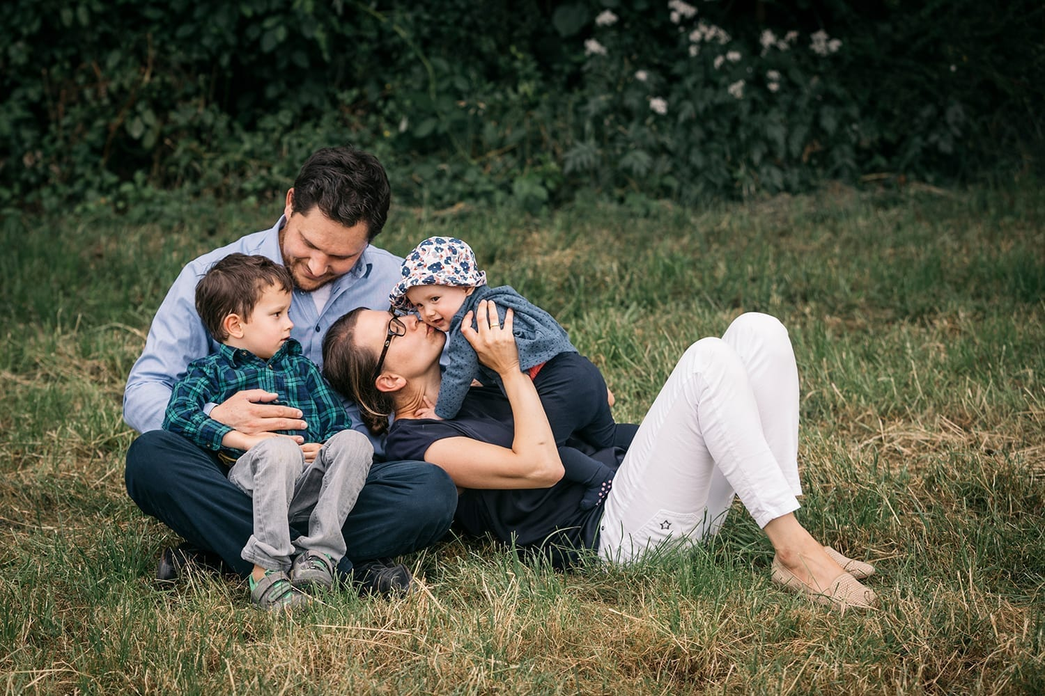 Lifestyle family session home