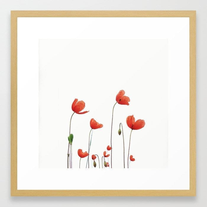 Poppy love art print Marianne Hope