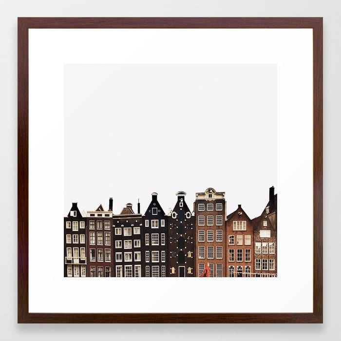 Simply Amsterdam art print Marianne Hope