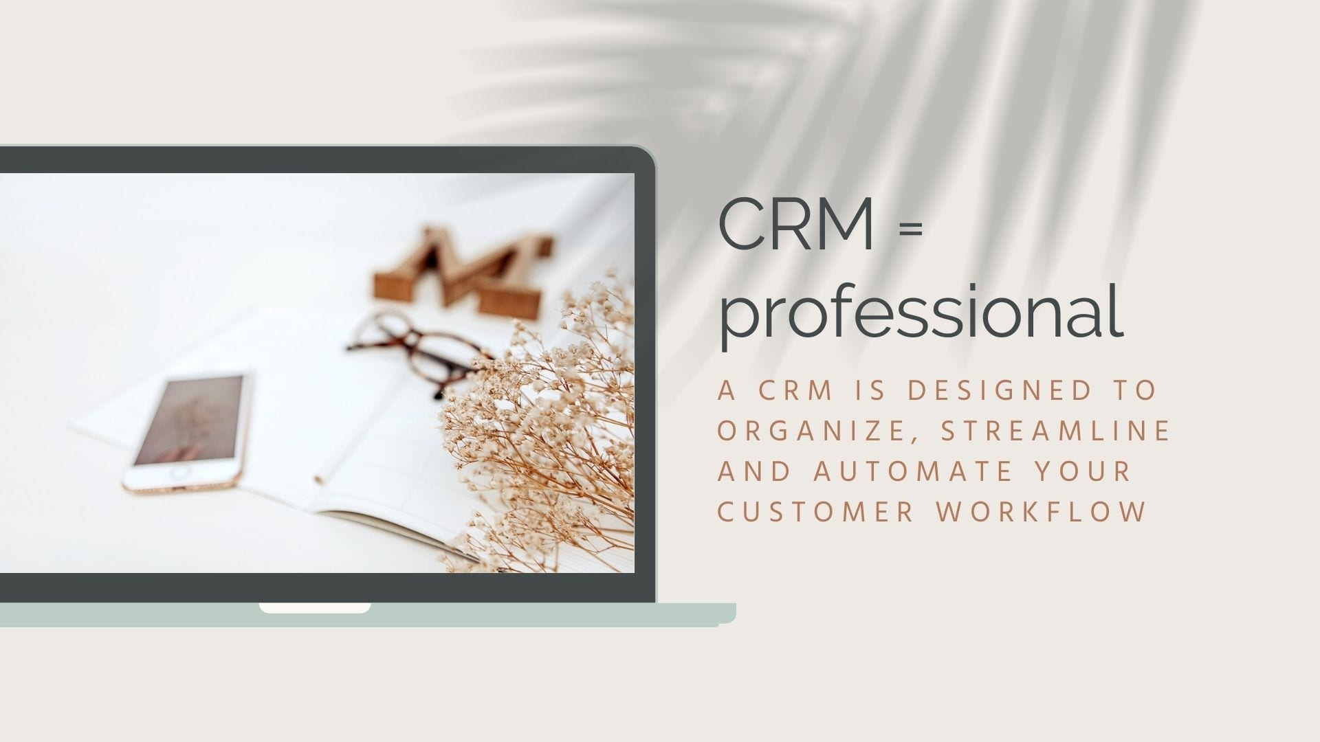 CRM for photographers, designed to organize, streamline, and automate your customer workflow